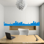 Decaleco Wall Decals - City Skyline