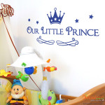 Decaleco Wall Decals - Our Little Prince