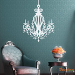 Decaleco Wall Decals - Royal Chandelier