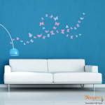Decaleco Wall Decals - Set of 36 Butterflies