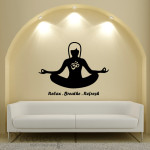 Decaleco Wall Decals - Yoga